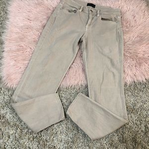 Vince mason relaxed rolled tan pants